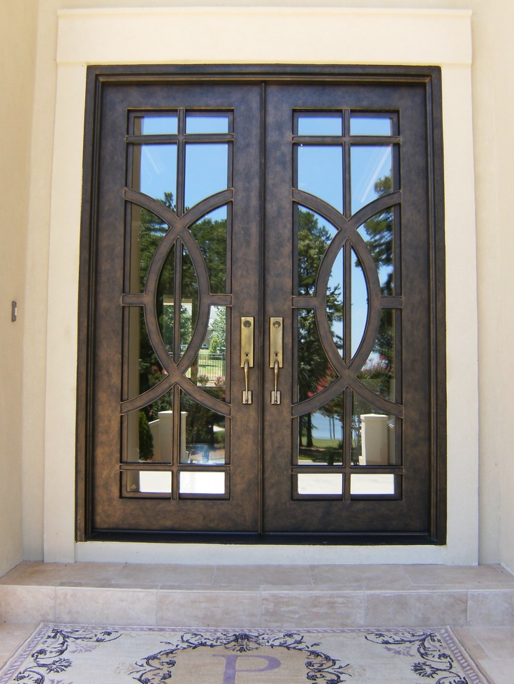 17 best images about iron door on pinterest home for Decorative entrance doors
