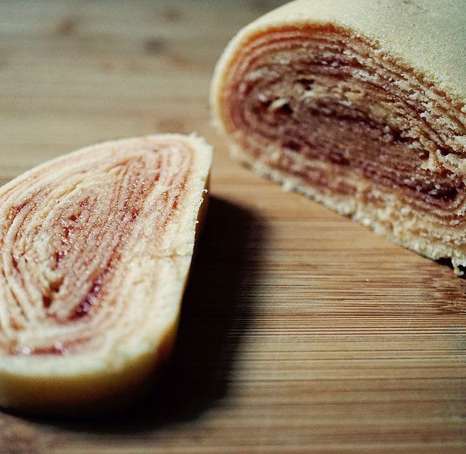 Das Original mit Guave - Bolo de Rolo Goiaba