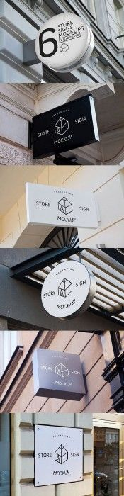 Store Signs Mock-ups 2 685102