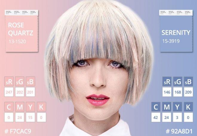 Основные цвета 2016 по версии Pantone