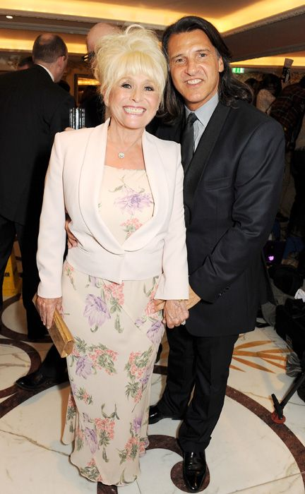 Barbara Windsor and Scott Mitchell at the Amy Winehouse Foundation Ball in central London.