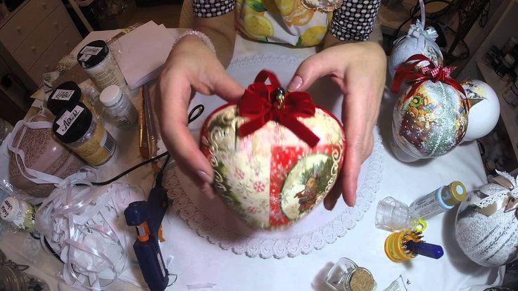 Новогодний шар своими руками. 4-я часть.