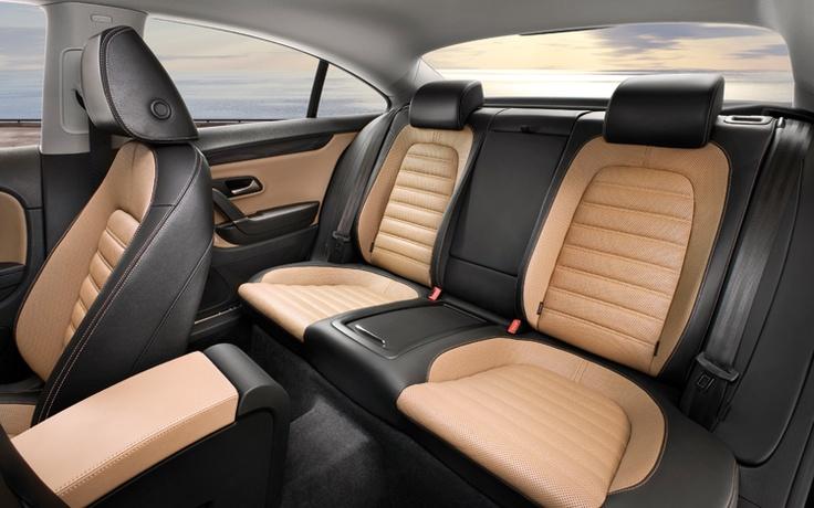 VW Passat CC: Dayyyum look at that sexy interior- loving it!