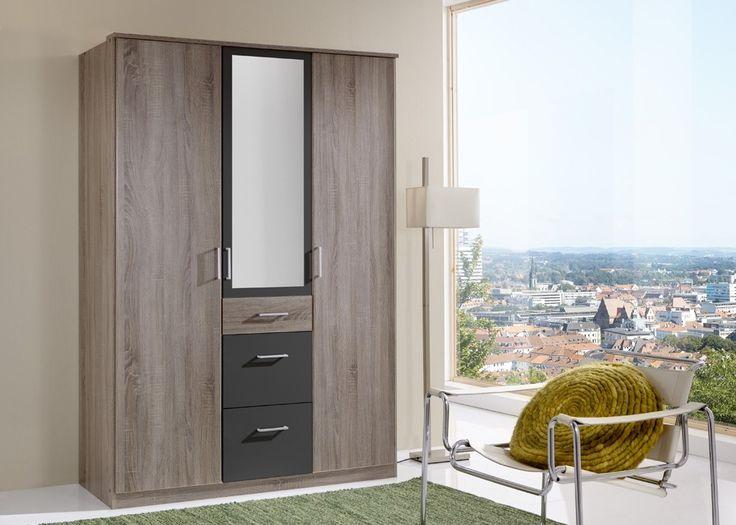Schlafzimmerschrank-erle-massiv-45. moderner drehtüren ...