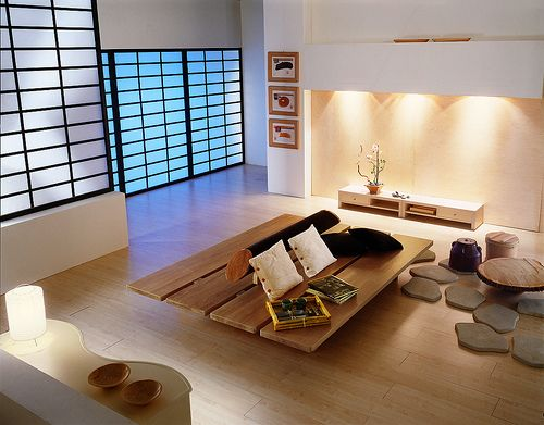 sala estar living room zen