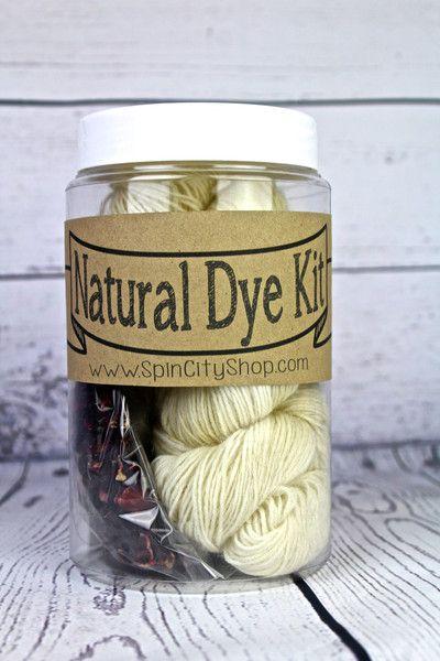 Natural Dye Kit: YARN