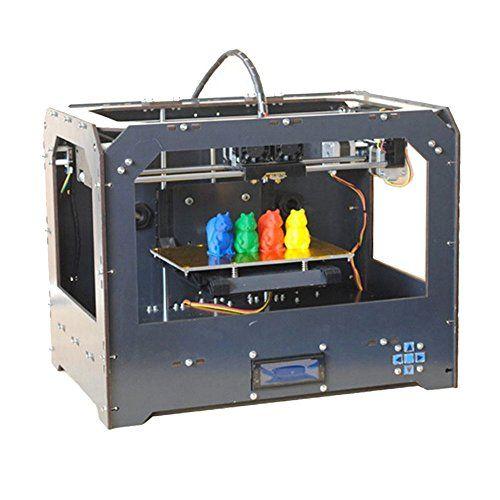 Sale Preis: Schwarz 3D Drucker, Dual-Extruder Desktop Rapid Prototyping 3D-Drucker 3D Printer Inklusive 1x 1,75 mm 1 kg /2,2lb ABS Filament. Gutscheine & Coole Geschenke für Frauen, Männer & Freunde. Kaufen auf http://coolegeschenkideen.de/schwarz-3d-drucker-dual-extruder-desktop-rapid-prototyping-3d-drucker-3d-printer-inklusive-1x-175-mm-1-kg-22lb-abs-filament  #Geschenke #Weihnachtsgeschenke #Geschenkideen #Geburtstagsgeschenk #Amazon