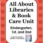 This unit is for library orientation and learning or reviewing book care with kindergarten, 1st, and 2nd grade students.  For each grade level, the...