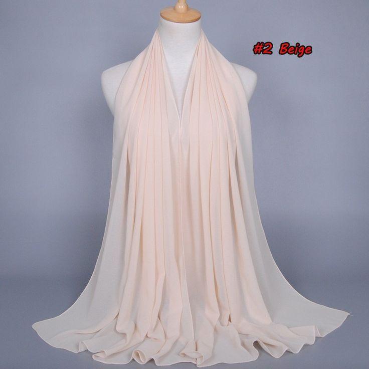 New Color Muslim hijab islamic women hijab Muslim hijab jersey scarf hijabs bubble chiffon shawls plain scarves WL2461
