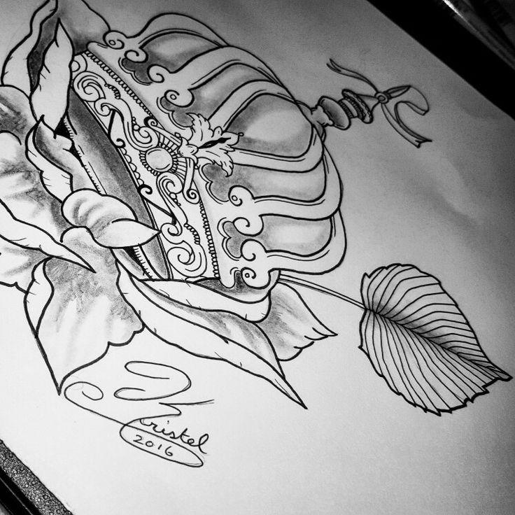 Crown tattoo tattoos design