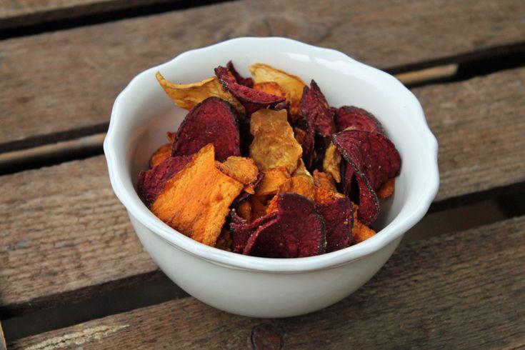 Gesunde Snacks: Gemüsechips selber machen | Projekt: Gesund leben | Ernährung, Bewegung & Entspannung