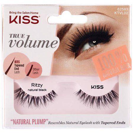 Kiss True Volume Natural Plump Eyelashes, Ritz