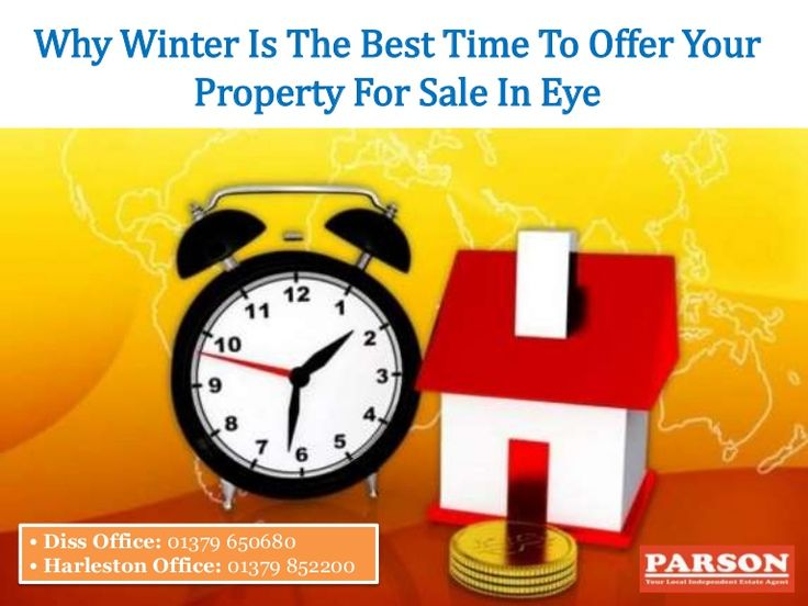 Approaching estate agents before offering your property for sale in Eye is a must. During winter they have less workload and can devote their clients more attention. #Property #propertyforsale #eye