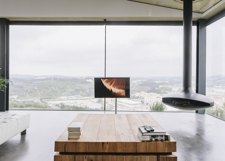 solution for a tv with a view
