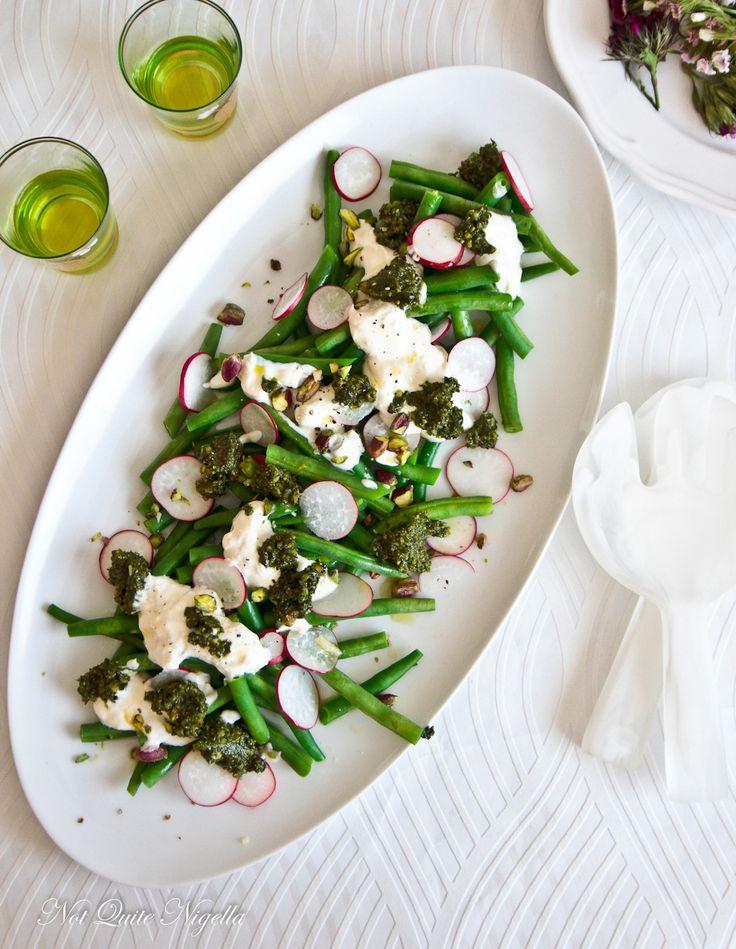 Scrumptious Sides - Green Bean & Feta Salad