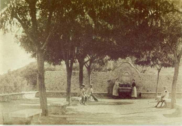 Font del Cavaller 1920, Banyeres de Mariola.