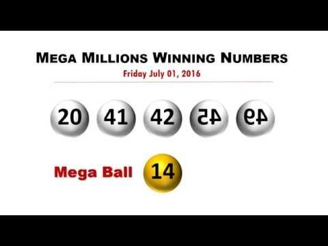 Mega Millions Winning numbers for Friday 7/1/2016; jackpot now worth $449 million - (More info on: https://1-W-W.COM/lottery/mega-millions-winning-numbers-for-friday-712016-jackpot-now-worth-449-million/)