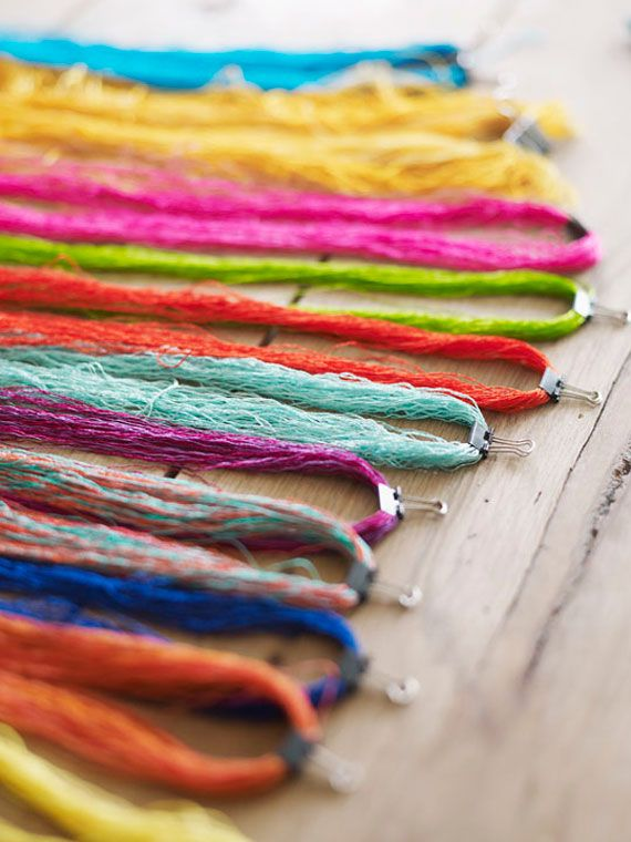 Richard Saja, Embroidery Artist ~ Interview from Sweet Paul magazine, via Etsy