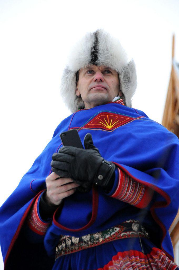 A Saami man in a national costume, Tromsø / Norway   Flickr