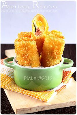 Just My Ordinary Kitchen...: AMERICAN RISOLES (AMRIS)