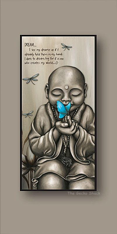 The Gecko Shack - From the Soul Monk - Aqua Affirmation Stretch  Canvas FTS Series, $119.95 (http://www.geckoshack.com.au/from-the-soul-monk-aqua-affirmation-stretch-canvas-fts-series/)