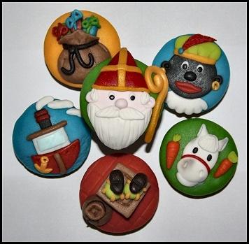 Sinterklaas Cupcakejes