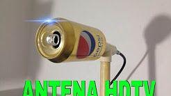 (671) como hacer una antena para tv - YouTube
