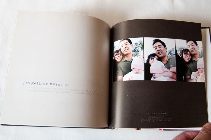 Happy friday. Just saying that puts me in a better mood. Anyways, I just wanted to pop in to share photos of another printed photobook project that I completed a few years ago. The Defined album is a collection of favorite photos and defining moments. It's been interesting going back through my photobook library. Sometimes …