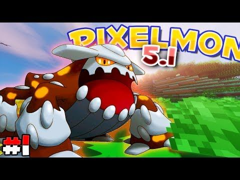 http://minecraftstream.com/minecraft-episodes/pixelmon-ep-1-heatran-is-my-starter-pixelmon-5-1-update-pixelmon-minecraft-episode-1/ - Pixelmon Ep. 1 | 'HEATRAN IS MY STARTER!?!' | (Pixelmon 5.1 Update - Pixelmon Minecraft Episode 1)  Hey guys and welcome to a brand new Minecraft Pixelmon season! In episode 1, we start with a pokemon from the Pixelmon 5.1 update… HEATRAN! He is one of the coolest pokemon in the game and I can't wait to continue this series and gro