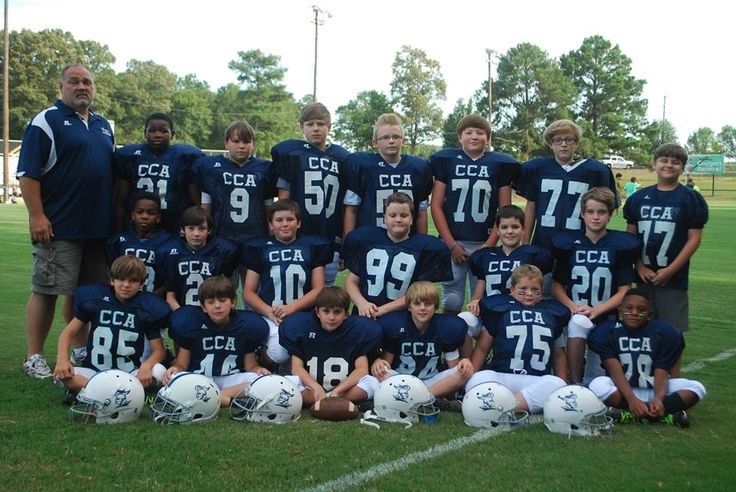 015 Pee Wee Football Team