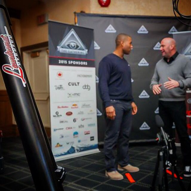 Filming UFC owner Dana White Photo: Kyle Hamilton / www.LaundromatStufios.com