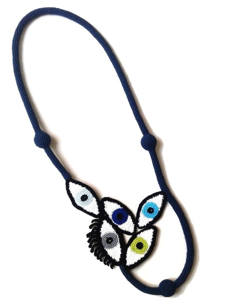 Wonderful crochet jewelry by Teresa Degleri