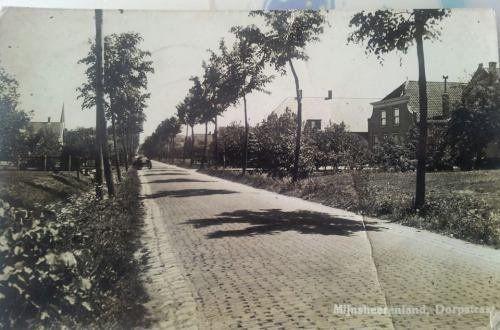 Raadhuislaan Mijnsheerenland (jaartal: 1945 tot 1950) - Foto's SERC
