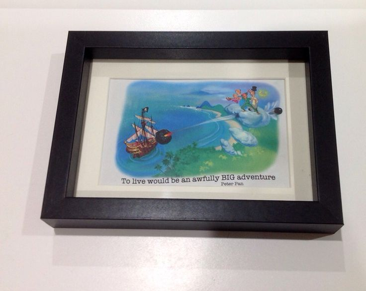 Peter Pan quote on original book page created by Sneaky Little Fox