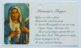 Sacred Heart of Mary & the Motorist's Prayer.