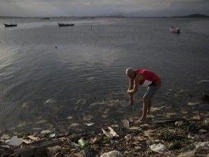 Las playas de Río están contaminadas con virus y bacterias