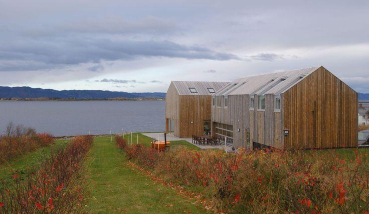 House Balsvika in Frosta. Architects: PIR II.