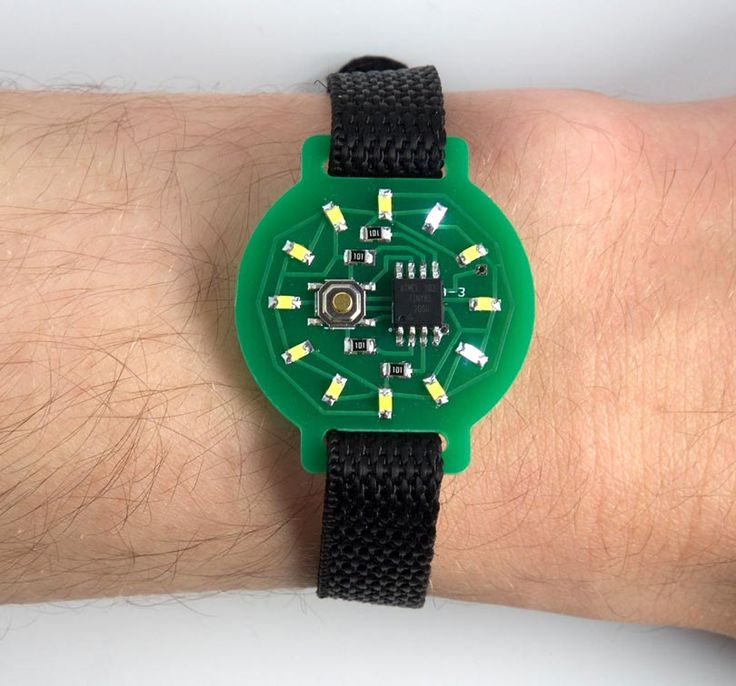 David Johnson-Davies designed a minimalist ATtiny85-based watch using 12 LEDs, arranged like a clock face, to show the time in analogue-style. He writes: To show the time you press the button on the watch face, and the time is then displayed for four seconds. It lights one LED to show the hour, and flashes anotherRead More