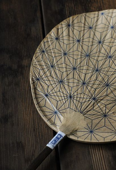 Japanese paper Uchiwa (fan), Japan. S)