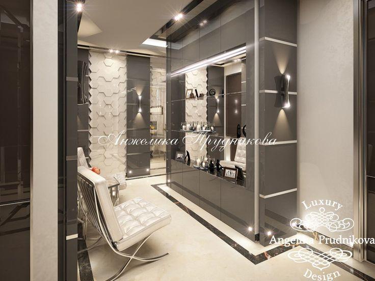 Дизайн квартиры в ЖК Андреевский в стиле модерн - фото