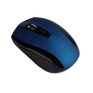 Chianrliu 1600dpi RéGlable Souris De La Souris Optique Sans Fil 2,4 G Pour Ordinateur Portable Pc, Bleu