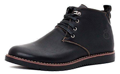 Oferta: 34.78€. Comprar Ofertas de Nuevo para hombre Casual Chelsea Inteligentes Vestido Botines Con Cordones Zapato Número - Negro, hombre, 11 UK / 45 EU barato. ¡Mira las ofertas!