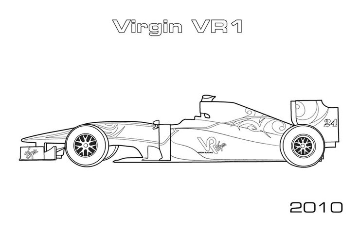 How To Draw A Indy Car Indy Race Cars Colouring Pages