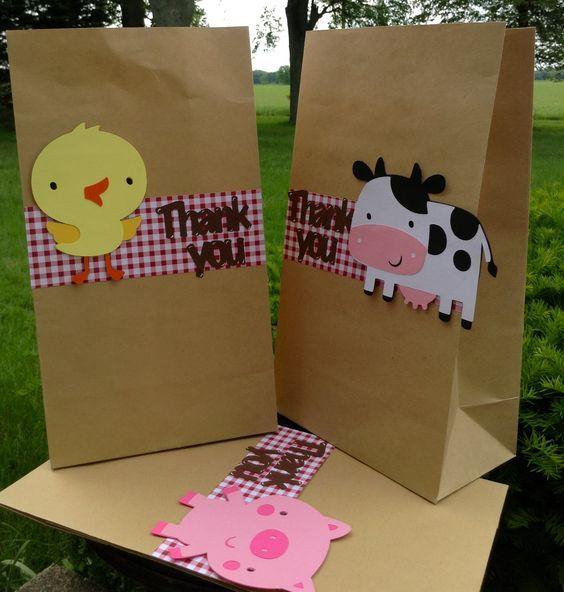 Barnyard Farm Animal Bash Goodie Bag set of 10: