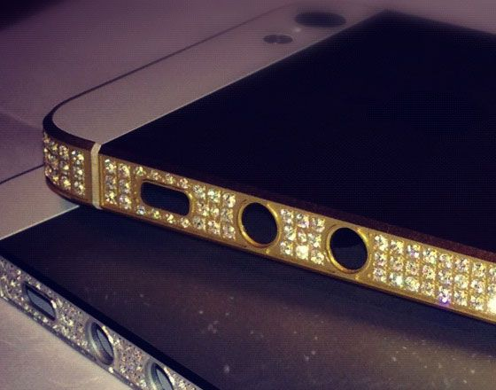 Amosu diamond iPhone 5 l #luxury