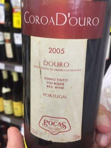 Manoel Pocas Junior Coroa D'ouro Douro Vinho Tinto 2005