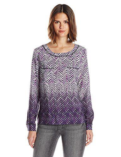 Wear To Work Womens Petite Herringbone Blouse  www.weartowork.us #weartowork #Blouse