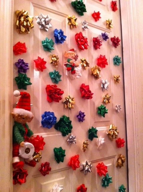 bows on the doors