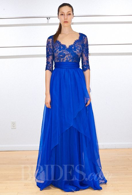 Blue dress for wedding