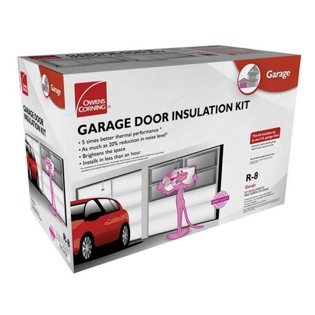 Owens Corning Garage Door Insulation Kit 22 X 54 R8 Faced Walmart Com Garage Door Insulation Kit Garage Door Insulation Door Insulation
